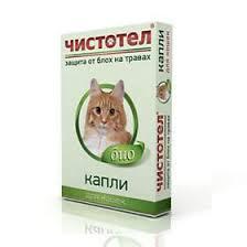 <b>Чистотел Био Капли</b> от блох и клещей для кошек, 1 пипетка (вет ...