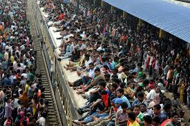 is overpopulation a real threat crowded trains overpopulation