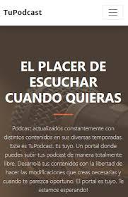 TuPodcast El Placer de escuchar cuando quieras