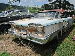 58 edsel ranger <b>rear bumper</b> bracket brace support arm <b>left right</b> 1958