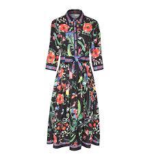 <b>Banulin</b> 2018 <b>Fashion Designer</b> Runway Dress Spring Women Half ...
