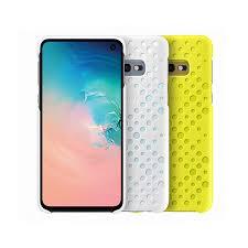 <b>Чехол Samsung Pattern Cover</b>, белый+желтый, для Galaxy S10e ...