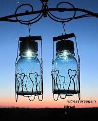 heart basket mason jar solar lights ball antique blue solar jars by treasureagain httpetsyme17xju76 mason jar solar lights pinterest solar ball mason jar solar lights
