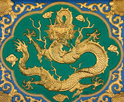 dragon plaque chinese feng shui dragon