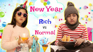 <b>NEW YEAR PARTY</b> - RICH vs NORMAL PEOPLE | #MoralValues ...