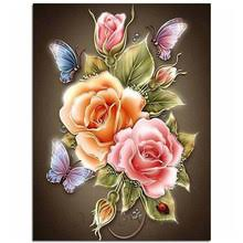Butterfly Flower <b>Diamond</b> Painting Promotion-Shop for Promotional ...