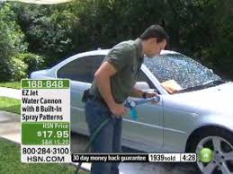 <b>EZ Jet Water Cannon</b> with 8 Built-In Spray Patterns - YouTube