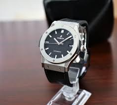 Hublot Classic Fusion 45mm - Titanium - Black <b>Leather</b> - <b>2021 New</b> ...