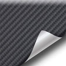 VViViD Black <b>Carbon Fiber</b> Weatherproof Faux <b>Leather</b> Finish