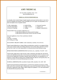 medical resumes assistant cover letter 9 medical resumes