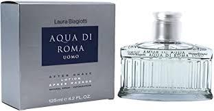 <b>Laura Biagiotti</b> - <b>Aqua</b> Di Roma For Men 125ml AFTERSHAVE ...