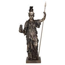<b>Статуэтка Veronese</b> VWU75974A4AL <b>Афина</b>-<b>греческая богиня</b> ...
