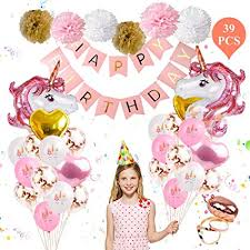 Unicorn Balloons Birthday Party Decorations ... - Amazon.com