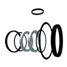 <b>Набор</b> уплотнительных колец для <b>шаровых кранов</b> - 9 шт. FPM d ...