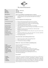 cover letter waiter job description captain waiter job description cover letter cover letter template for plant manager job description head waiter resumewaiter job description extra