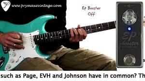 Xotic EP <b>Booster Mini</b> EQ Effect Pedal <b>Electric</b> Guitar Effects Single ...