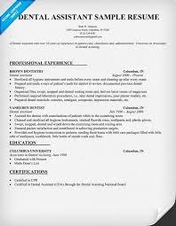 Dental assistant, Dental and Resume on Pinterest Dental Assistant Resume #dentist #health (resumecompanion.com)