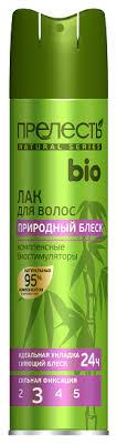<b>Прелесть</b> Professional <b>Лак для волос Bio</b> Природный блеск ...