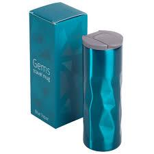 Термокружка <b>Gems Blue Topaz</b>, синий <b>топаз</b> оптом под логотип
