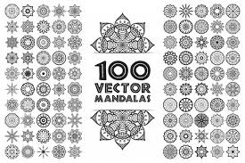 Free Vector | Mandala in <b>ethnic style</b>