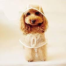 LUCKSTAR <b>Pet Raincoat</b> - <b>Waterproof Dog Puppy</b> Coat <b>Dog</b> Poodle ...