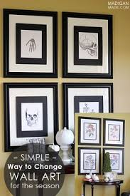halloween gallery wall decor hallowen walljpg easy switch print the free art fix into mats and tape mats to front of frame black and white vintage halloween gallery wall decor and frames shannon