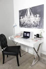 blondie in the city office space decor desk decor black and white office black and white office decor