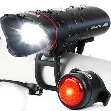 SHARK 500 - <b>USB Rechargeable Bike</b> Light Set - CycleTorch
