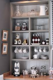 14 tips for diying a coffee bar at home built coffee bar makeover