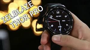 <b>Zeblaze THOR PRO 3G</b> Smartwatch w/ Incredible Camera! - GearBest