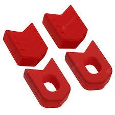 <b>1 Set MTB Road</b> Bike Crank Arm Protector Cover Crankset Cap ...