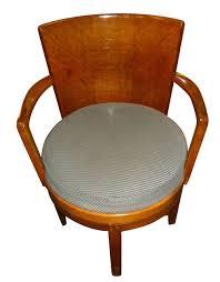 original art deco swivel oak desk chair art deco desk chair office side armchair