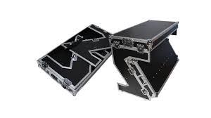 ProX XS-ZTABLE <b>Portable</b> Z-Style Dj Table Flight Case with <b>handles</b> ...