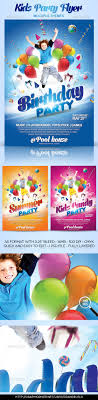 kids party flyer themes by grandelelo graphicriver kids party flyer themes events flyers