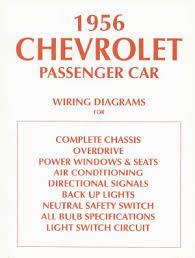 american motorabilia chevrolet car 1956 wiring diagram 56 chevy click to enlarge