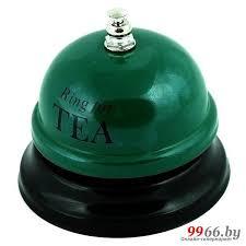 <b>Звонок настольный Эврика Ring</b> for a Tea 95089, цена 32 руб ...
