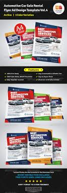 automotive car rental flyer ad template vol 4 by jbn comilla automotive car rental flyer ad template vol 4 corporate flyers