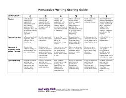 Writing Rubric from kindercreations blogspot com