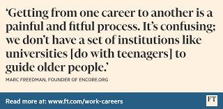 fancy a change of career advice on making it a success world career change quote