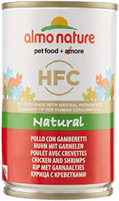 <b>Almo Nature Cat</b> Food <b>Cat Classic</b> Chicken and Shrimps 140 g Pack ...
