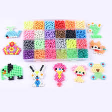 24 Colors 3600Pcs Water Spray Magic <b>Beads</b> Kids <b>Puzzle Fun Toys</b> ...