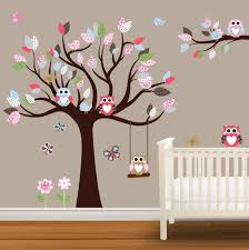 wooden tree baby nursery decal simple stickers classic fabulous white brown floor truth and opinion baby nursery inviting classic ba nursery room