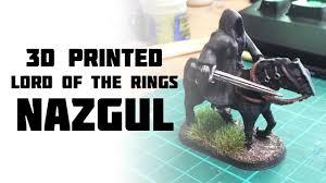 <b>Lord of the</b> Rings: 3d <b>Printing</b> Nazgul (2019) - YouTube