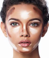 narrow the forehead on a heart shaped face by contouring from the temples downward learn more on the glossy