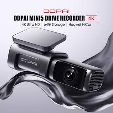 Xiaomi Youpin <b>DDPai Mini5</b> Drive Recorder <b>4K</b> High Definition ...