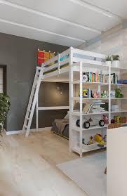 girls room playful bedroom furniture kids:  bunkbed design