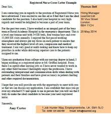 registered nurse cover letter example   job seekers forumsrelated topics