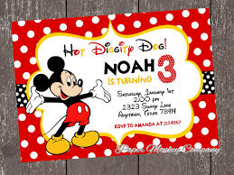 mickey mouse party invitations templates com mickey mouse clubhouse birthday invitations card invitation