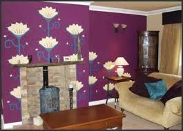 room daccor purple view  best purple walls in living room modern rooms colorful design fancy