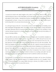 how to write autobiography for job application  sendlettersinfo  how to write autobiography for job application
